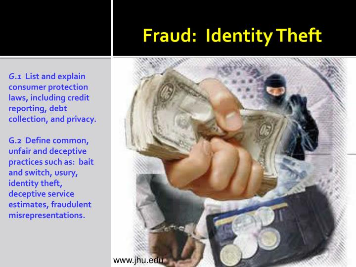 Fraud identity theft
