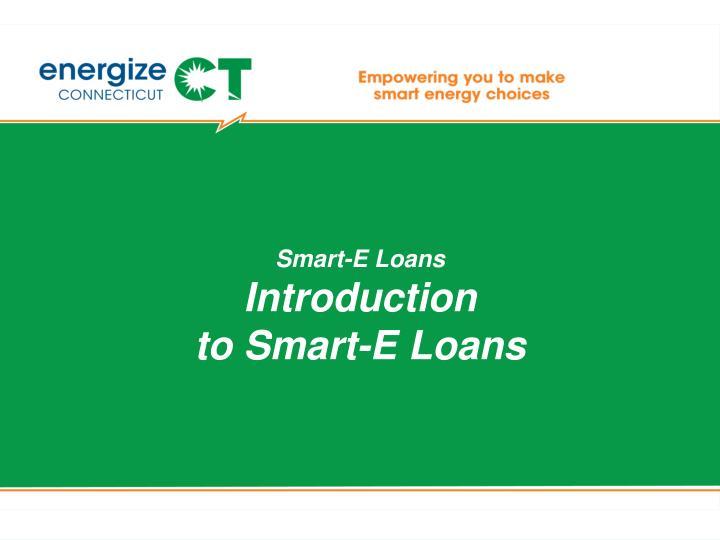 Smart-E Loans