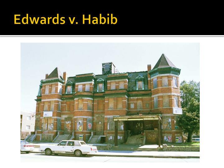 Edwards v. Habib