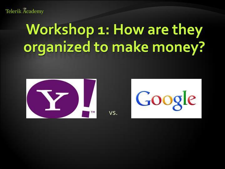 Workshop 1: