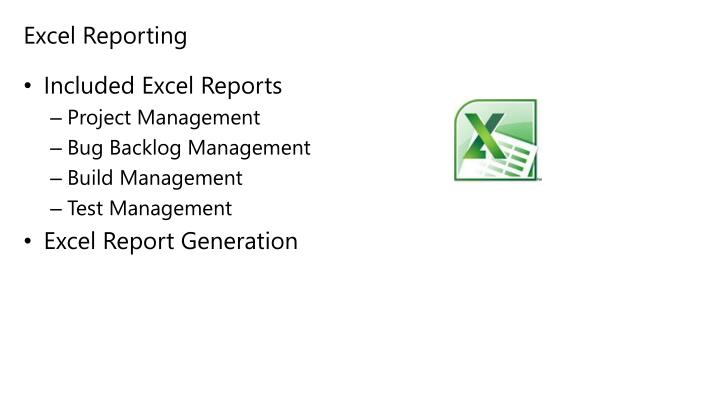 Excel Reporting