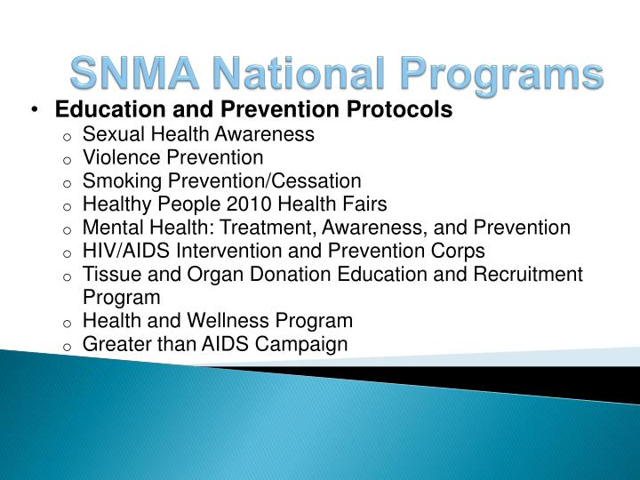 Education and Prevention Protocols