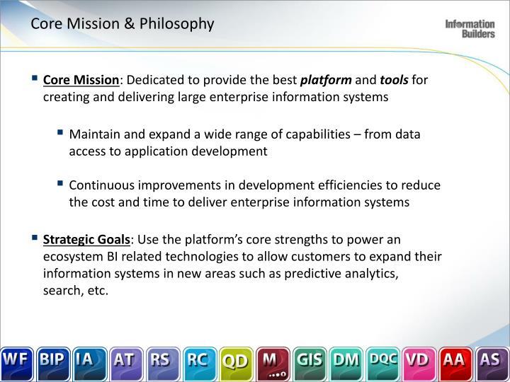 Core Mission & Philosophy