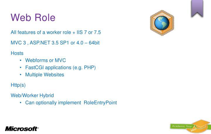 Web Role