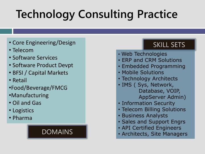 Technology Consulting Practice