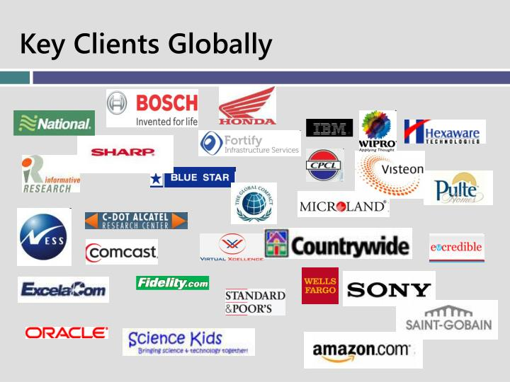 Key Clients Globally