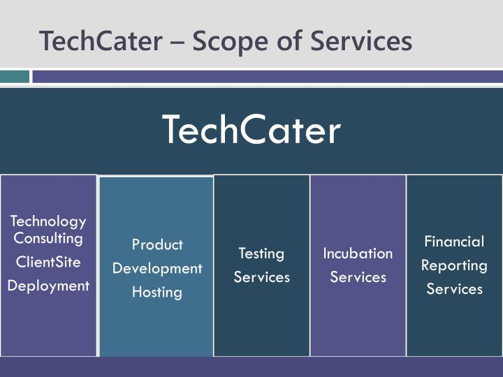 TechCater – Scope of Services