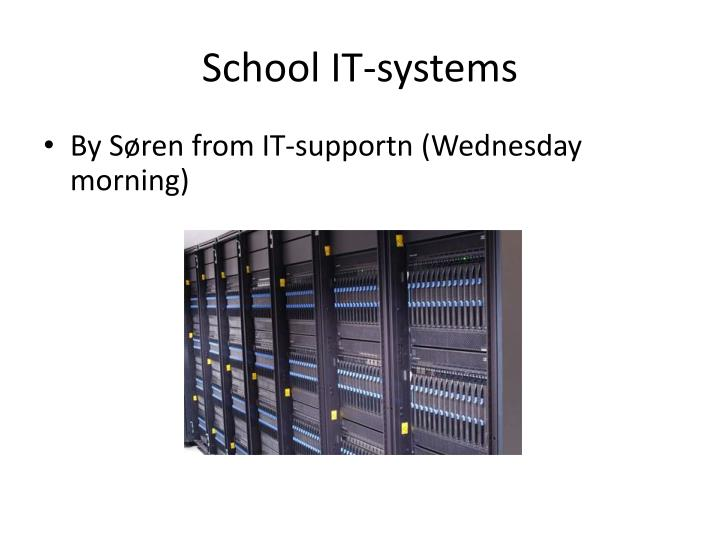 School IT-systems