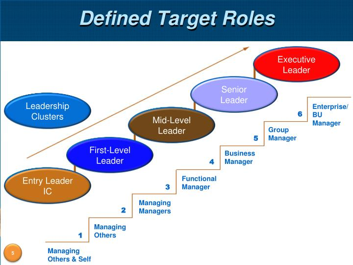Defined Target Roles