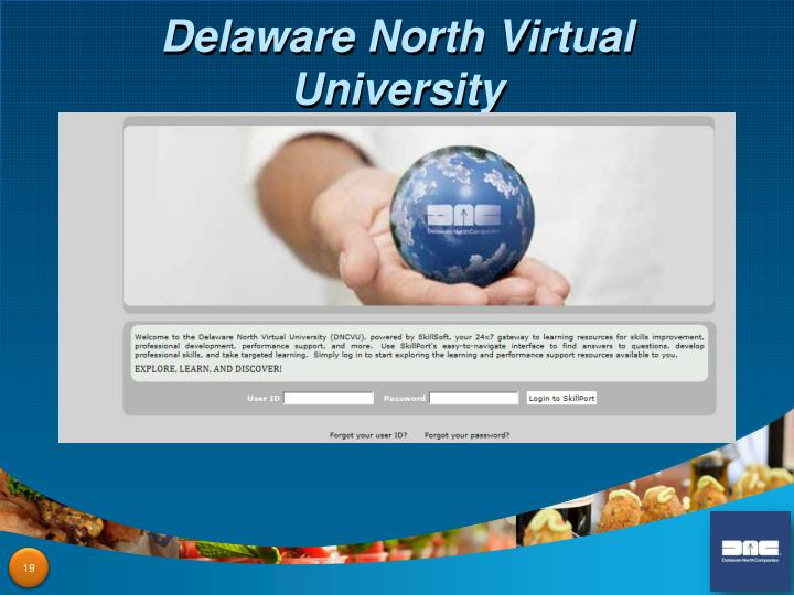 Delaware North Virtual University