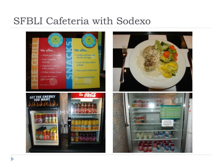 SFBLI Cafeteria with Sodexo
