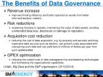 the benefits of data governance