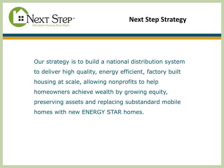 Next Step Strategy