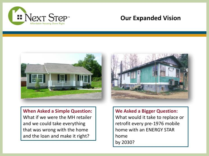 Our Expanded Vision