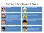 software development roles