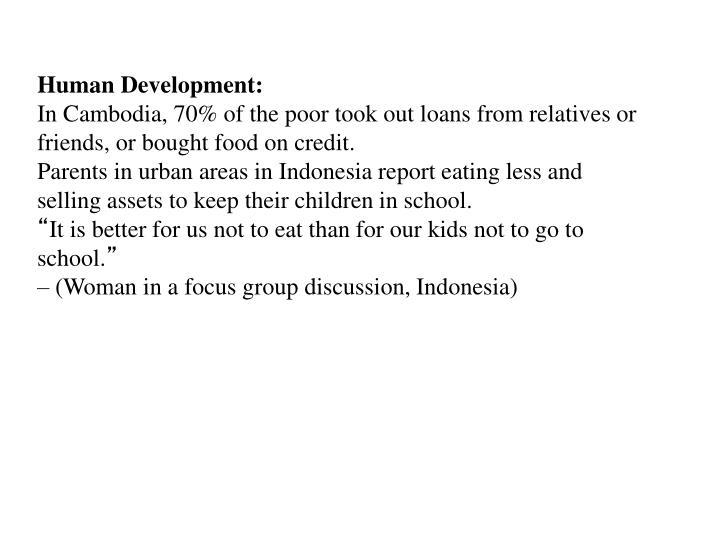 Human Development: