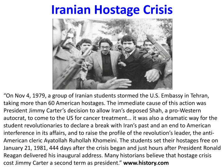 an analysis of the iranian hostage crises described in taken hostage by david farber