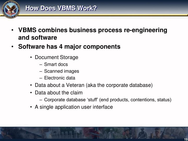 How Does VBMS Work?