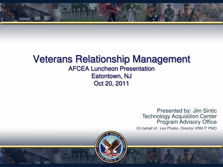Veterans Relationship Management