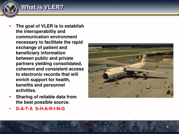 What is VLER?