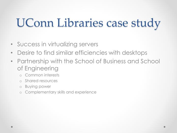 UConn Libraries case study