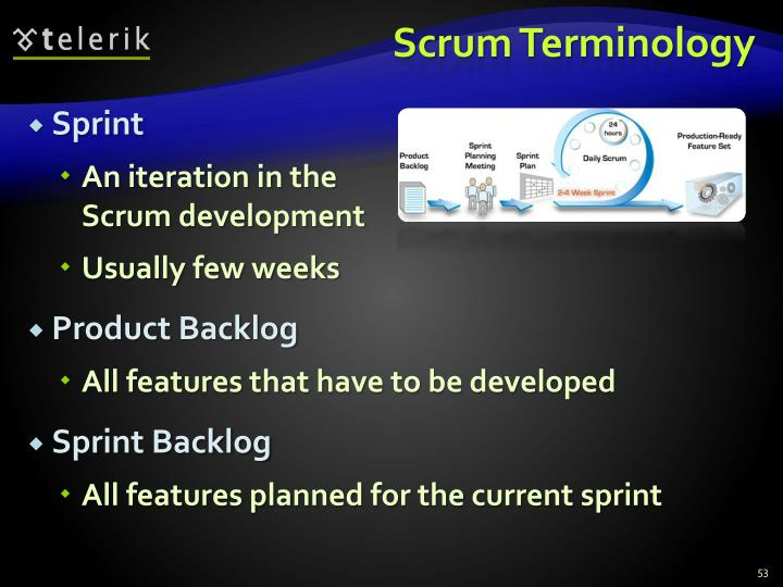 Scrum Terminology