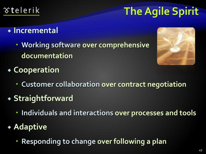 The Agile Spirit