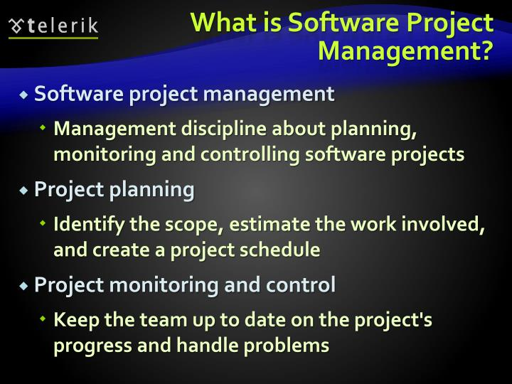 What is Software Project Management?