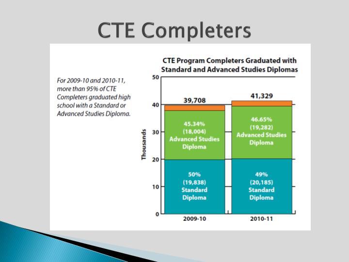 CTE Completers
