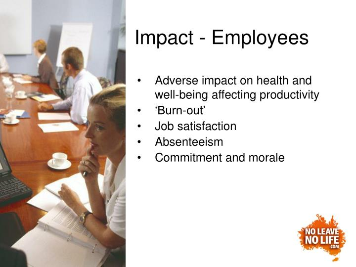Impact - Employees