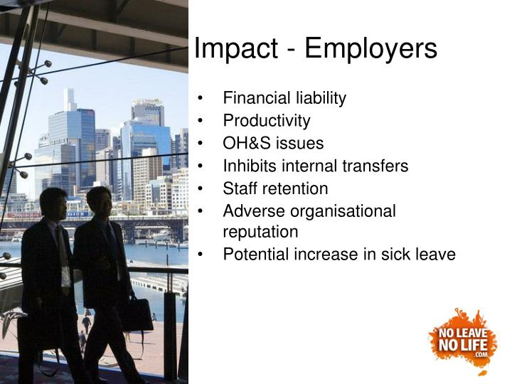 Impact - Employers