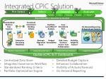 integrated cpic solution