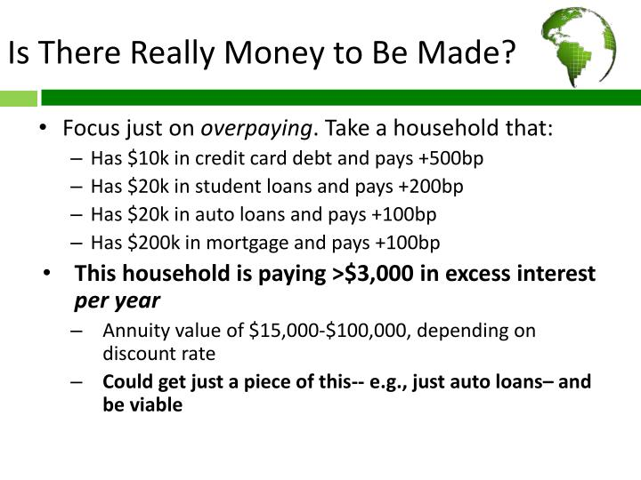 Is There Really Money to Be Made?