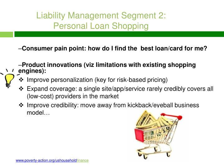 Liability Management Segment 2: