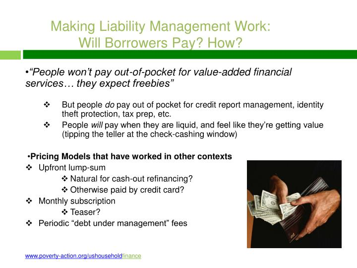 Making Liability Management Work: