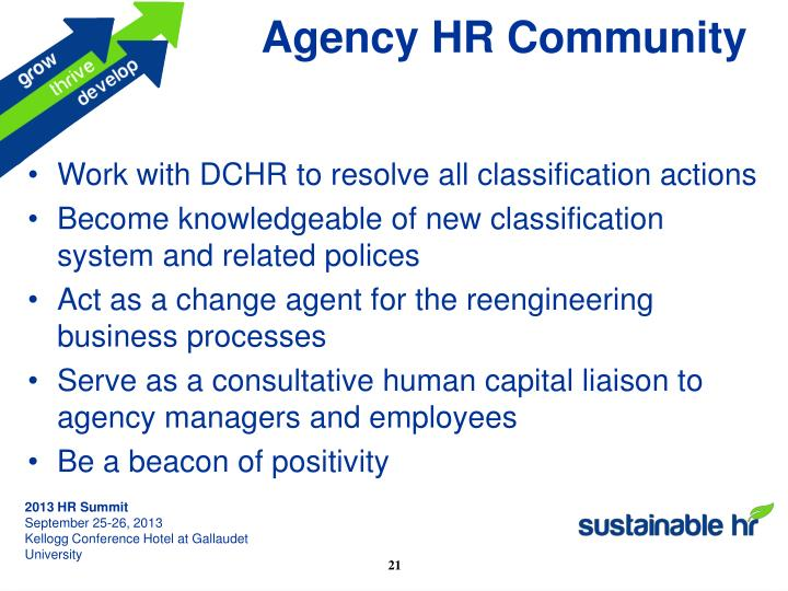Agency HR Community