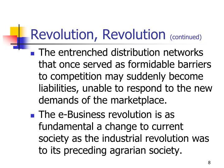 Revolution, Revolution