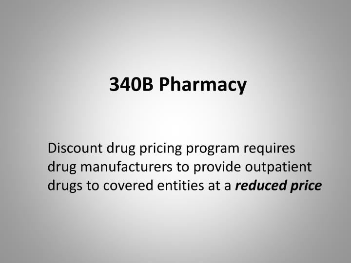 340B Pharmacy