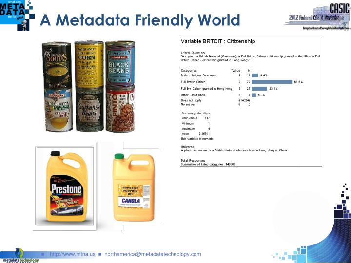 A Metadata