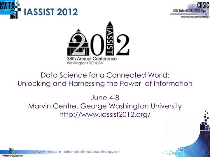 IASSIST 2012