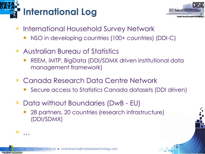 International Log