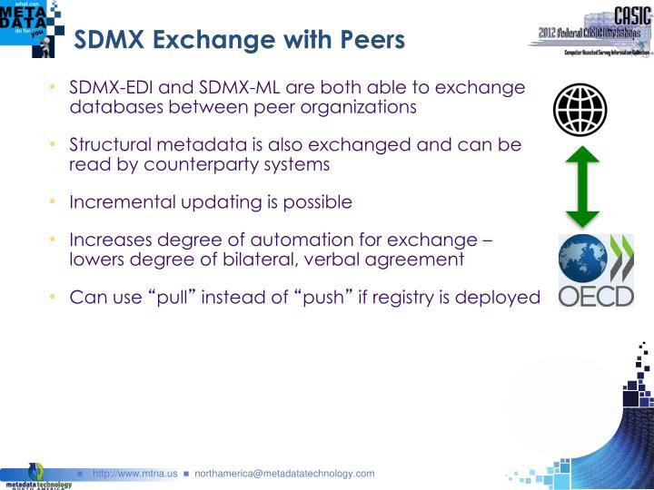 SDMX Exchange