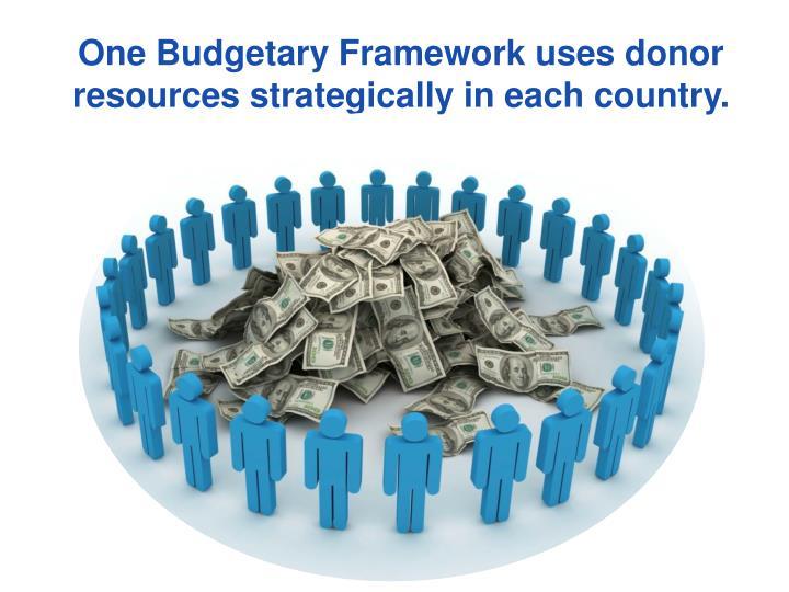 One Budgetary Framework
