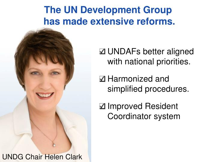The UN Development Group