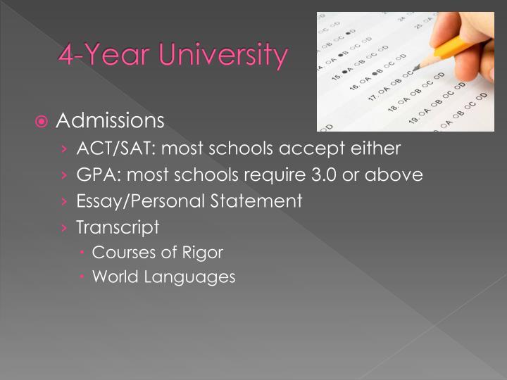 4-Year University