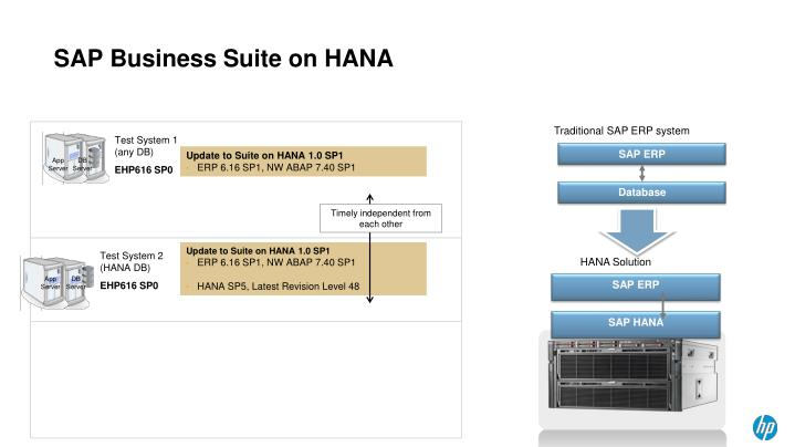 SAP Business Suite on HANA