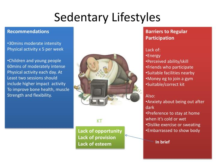 Sedentary Lifestyles