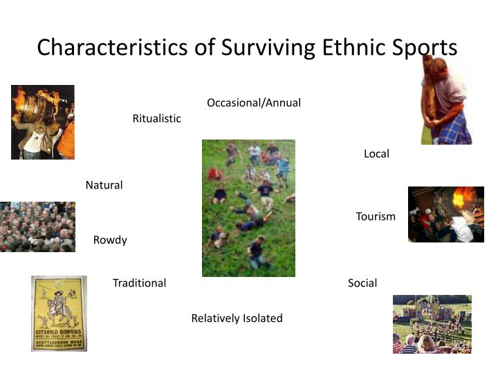 Characteristics of Surviving Ethnic Sports