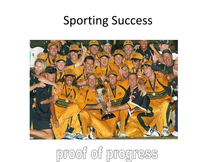Sporting Success