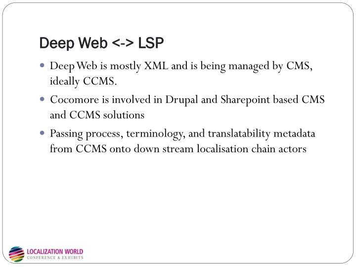 Deep Web <-> LSP
